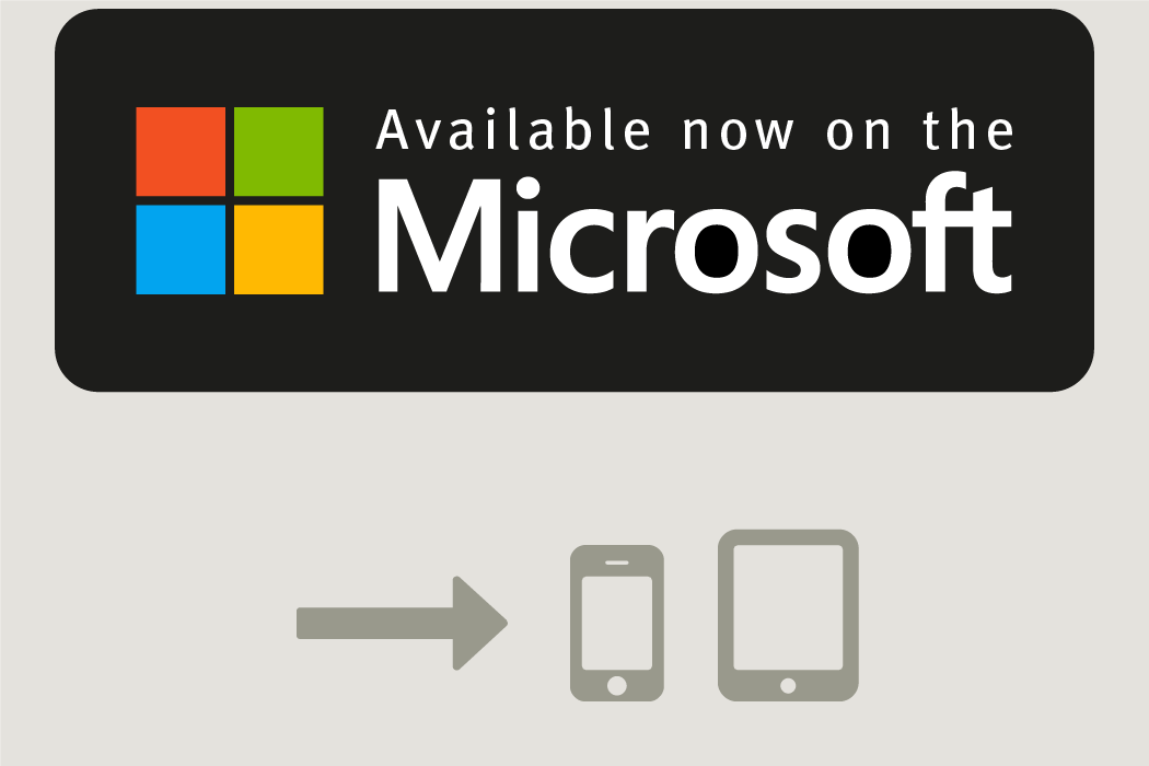 Free download on Microsoft App-Store